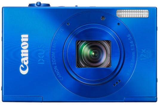 Canon Digital IXUS 500 HS 10.1 MP Point & Shoot Digital Camera (Blue)