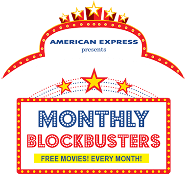 American Express Monthly Blockbusters Offer