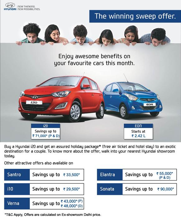 Hyundai Winning Sweep Offer