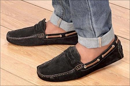 Marco Tonino Suede Loafers