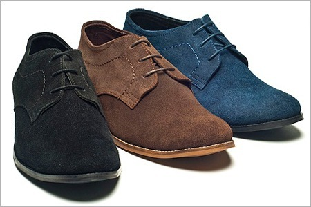 Marcus Suede Derby Shoes