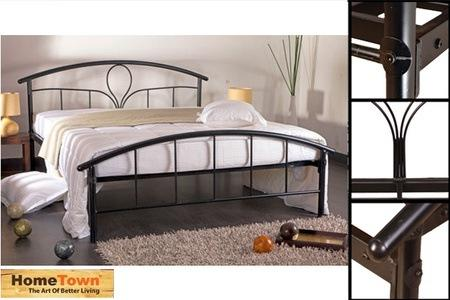 Rs.4999 for a Home Town Metal Queen Bed
