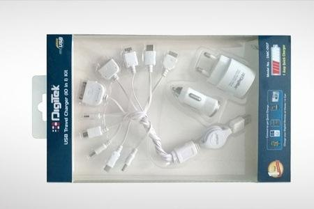 Rs.449 for a 10-in-1 USB Travel Charger Kit