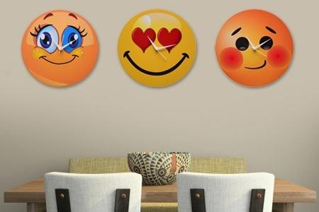 Smiley Wall Clocks