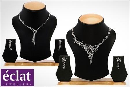 Austrian Diamond Necklace