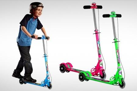 Rs.799 for a Kids Scooter. Choose from 3 Colors